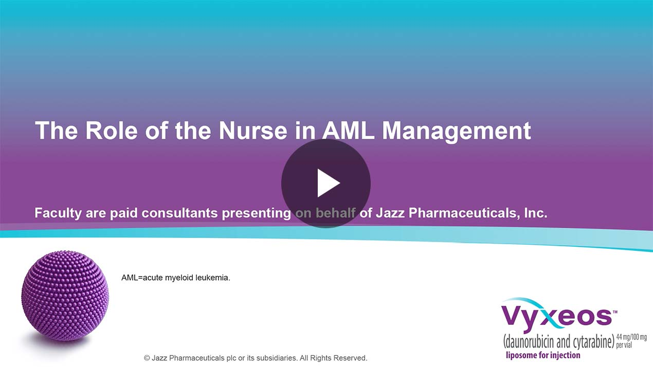 Thumbnail of Nurse's role in AML management Video