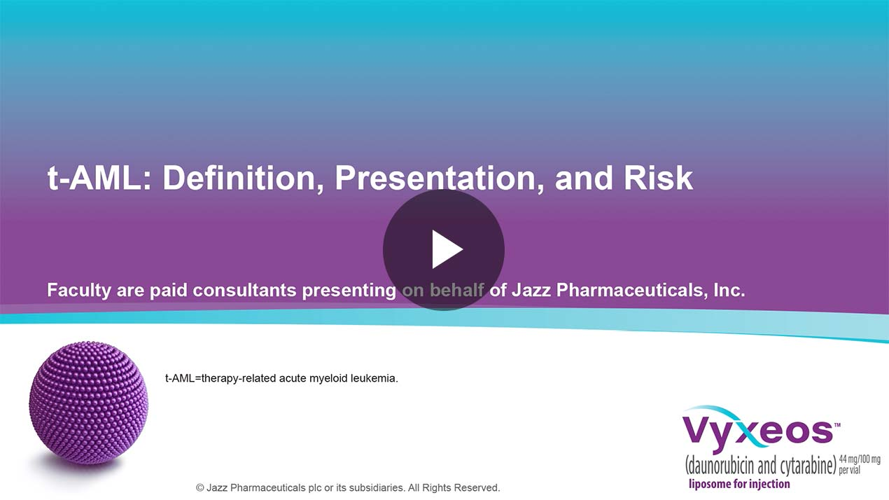 Thumbnail of t-AML: definition, presentation, and risk Video